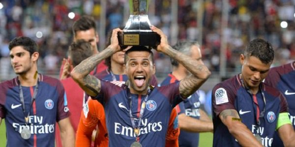 Dani Alves PSG Trophies