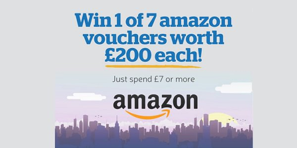 Win Amazon Voucher 2018 Health Lottery Giveaway