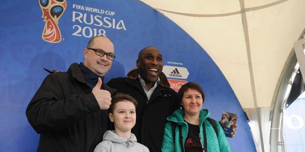 Sol Campbell World Cup 2018