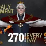 Win Awesome Prizes Thanks to King Billy Casino's Daily Free Spins Tournament