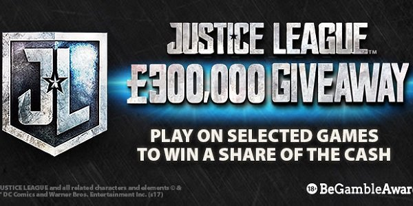 bgo Casino Justice League promotion