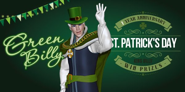 St Patricks Day Promo King Billy Casino