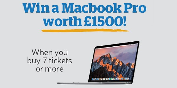 MacBook Pro Giveaway Health Lottery