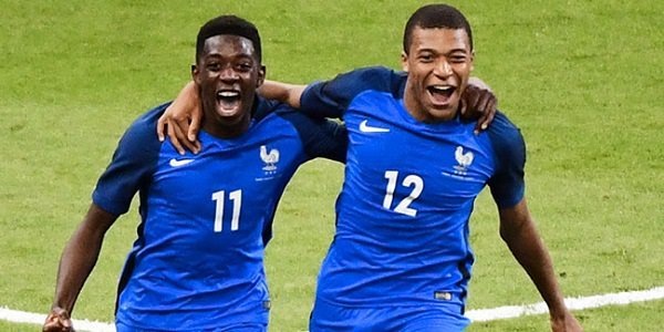 Dembele Mbappe France World Cup