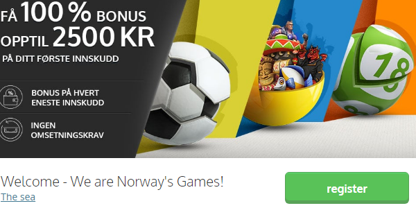 NorgesSpiel Casino Welcome Bonus