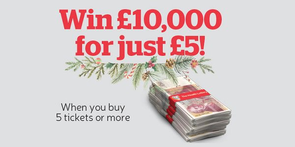 Christmas Cash Giveaway Health Lottery