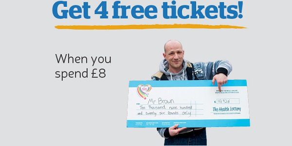 The Health Lottery Free Tickets