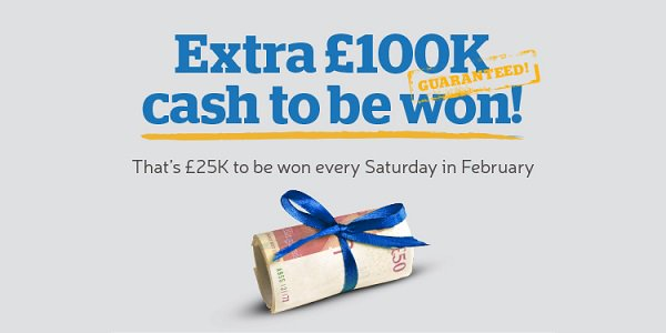 The Health Lottery GBP 100K Giveaway