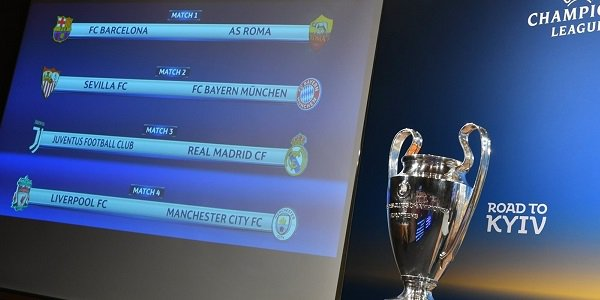 Champions League QF Draw