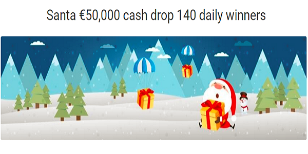 Win €500 Thanks to the Daily Cash Drop Promo by Unibet Bingo