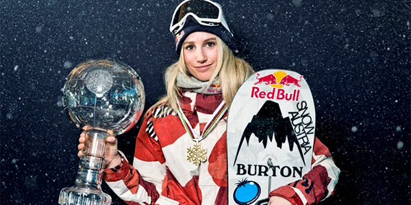 Anna Gasser to win Big Air Snowboarding