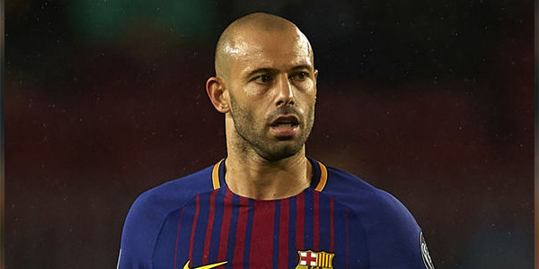 Here are the best odds on Javier Mascherano transfer