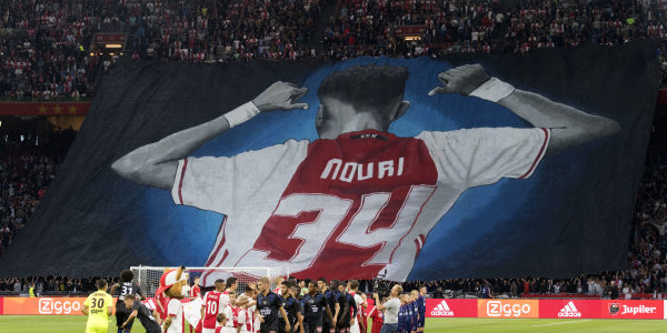 Bet on Ajax to Win Eredivisie Number 34 for Nouri