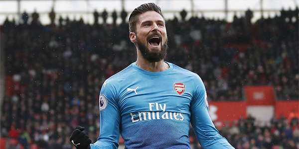 Bet on Olivier Giroud to leave Arsenal