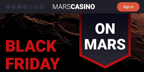 Mars Casino Black Friday Promo