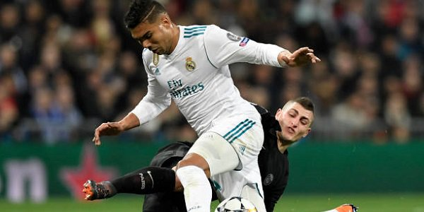 Casemiro Verratti Real Madrid PSG