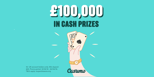 Win Cash Every Day: Casumo Gives Away GBP 5,000 Daily!