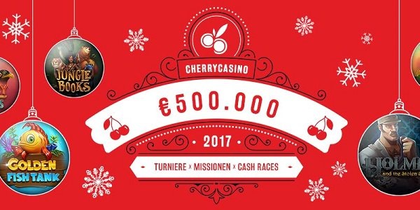 Christmas Promotion Cherry Casino