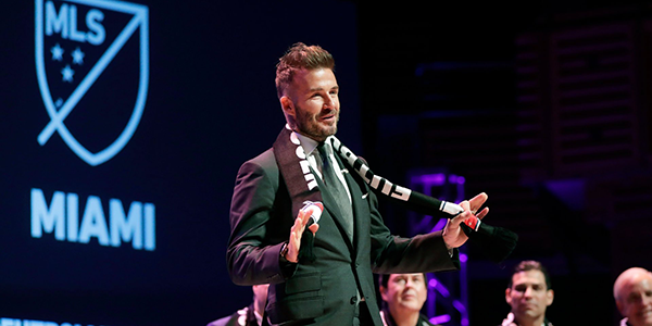 David Beckham Kicks Off his MLS Clubs Ownership with Miami