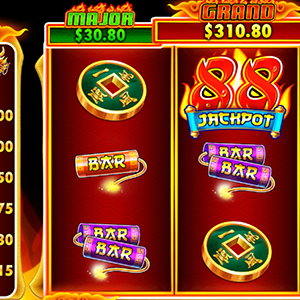Collect Fire 88 Slot Free Spins at Spartan Slots