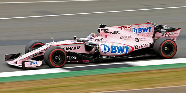 Force India; A Team With No Name At F1 Testing With No Point