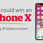 Spend GBP 8 at The Health Lottery and Win an iPhone X Today