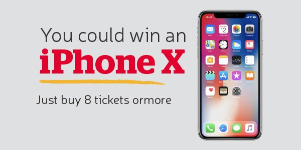 iPhone X Giveaway The Health Lottery
