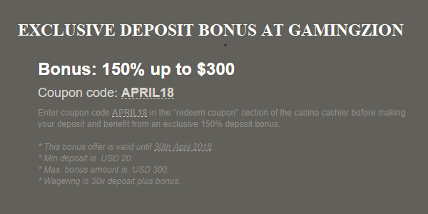 Intertops Casino Exclusive Promo