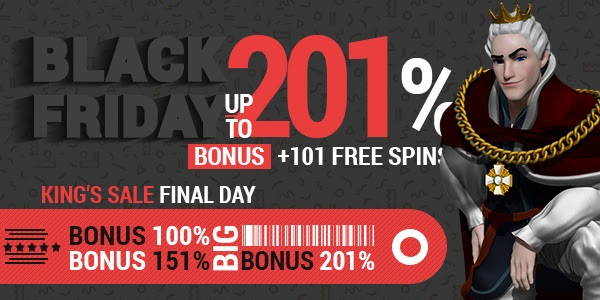King Billy Casino Black Friday Promotion