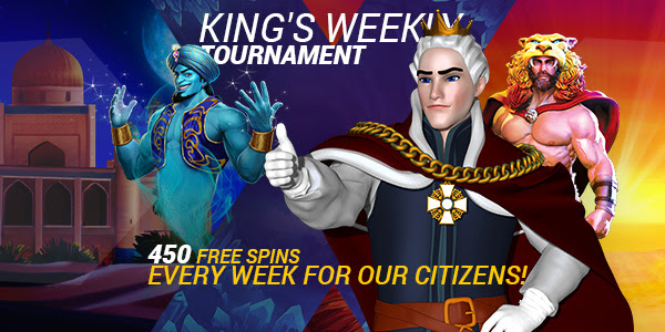 Win Free Spin on the King Billy Casino Tournament