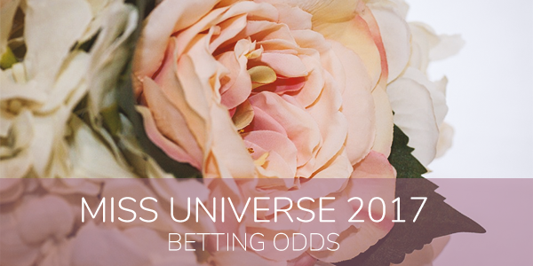 Miss Universe 2017 betting odds