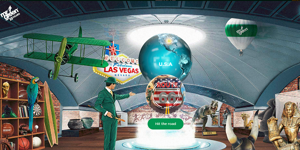 Mr Green Casino Route 66 Promo USA Holiday Giveaway