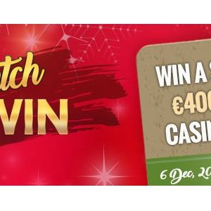 Win Your Share of €400,000 Christmas Promo Gifts by Royal Vegas Casino