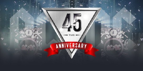 AC DC Anniversary promotion Tangiers Casino