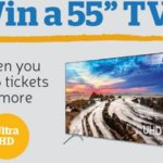 Spend GBP 5 at The Health Lottery and Win a Samsung UHD TV!