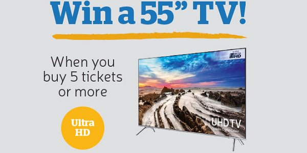 Samsung UHD Tv Giveaway The Health Lottery