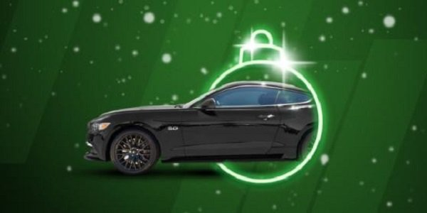 Win a Ford Mustang for Christmas Thanks to Unibet Casino!