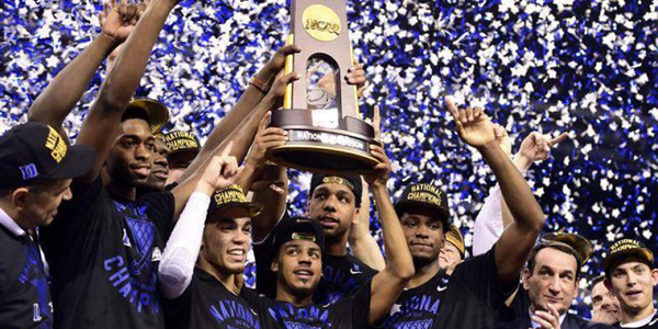 Would You Bet on Duke to Win NCAA Basketball Championship 2018?