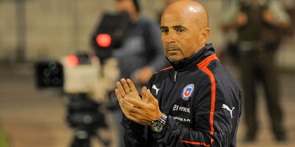 Jorge Sampaoli Clapping