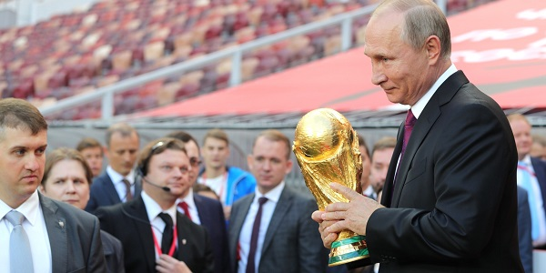 Putin World Cup Trophy 2018