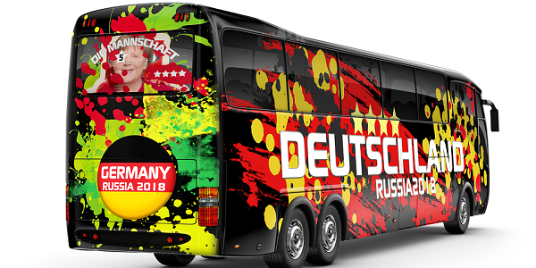 Germany World Cup Bus