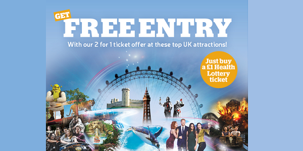 The Health Lottery Thorpe Park Tickets