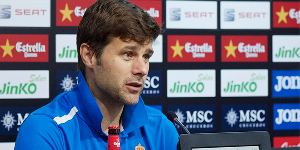 Mauricio Pochettino Happy at Tottenham