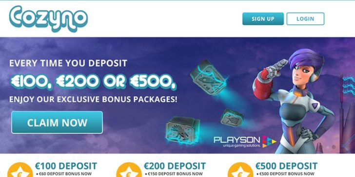 Review about Cozyno Casino