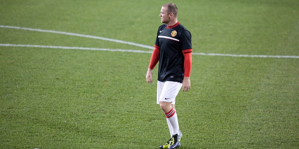 Wayne Rooney Man Utd Training