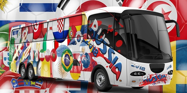 World Cup 2018 Bus