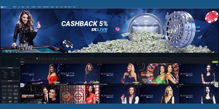 review about 1xbet casino