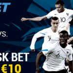 Enjoy your €10 Risk Free World Cup Final Betting Offer at 1xBET Sportsbook