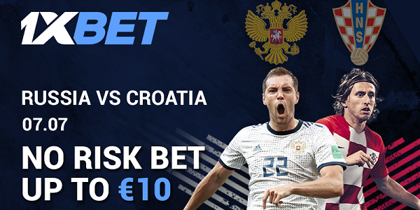 1xBET Sportsbook Risk Free World Cup Betting
