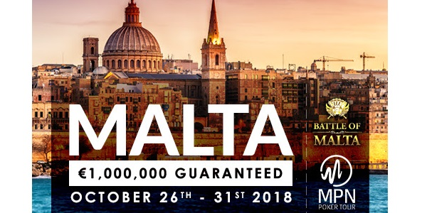 32Red Poker Malta Holiday Giveaway